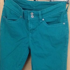 Levi's colored jeans